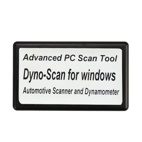 Dyno Scanner for Dynamometer and Windows Automotive Scanner