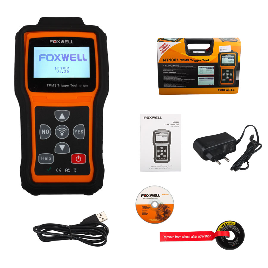 Foxwell NT1001 TPMS Trigger Tool Life-time Free Update