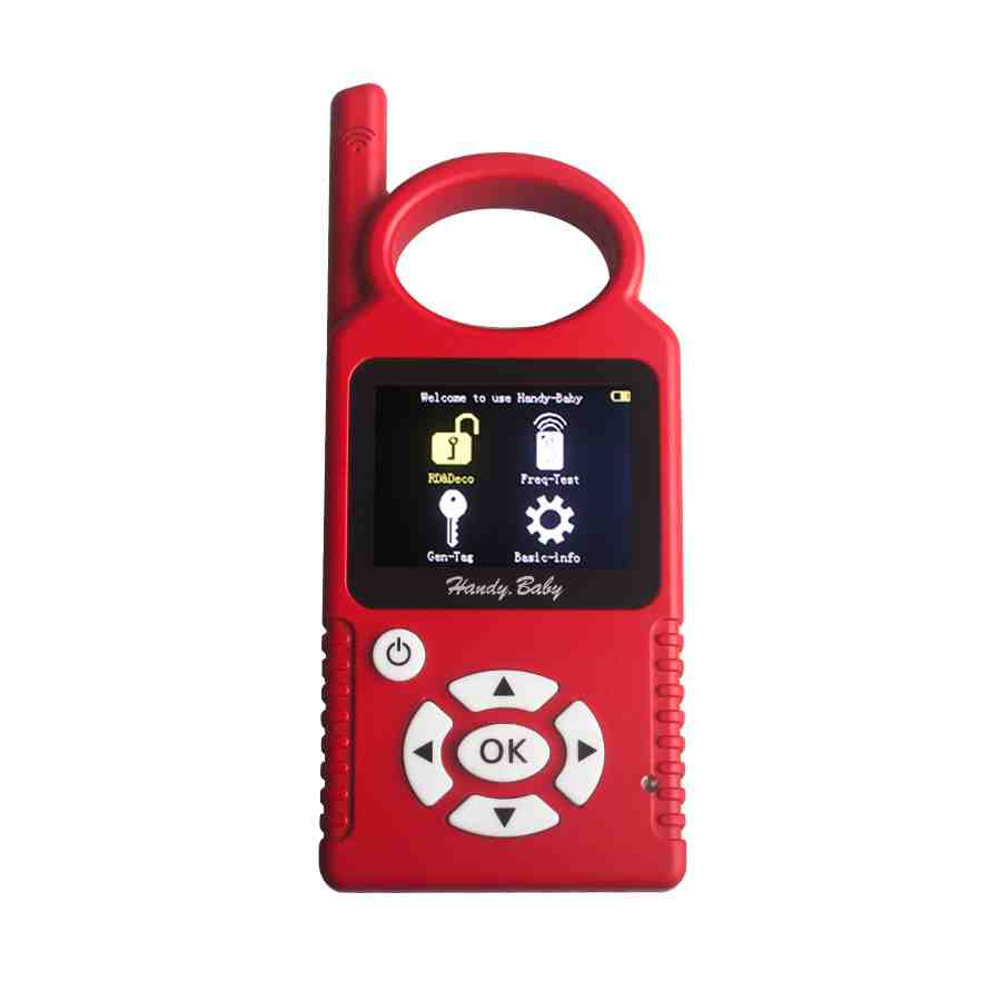 [Ship from UK NO TAX]V9.0.2 Hand-held Car Key Copy Handy Baby Auto Key Programmer For 4D/46/48 Chips Update Online