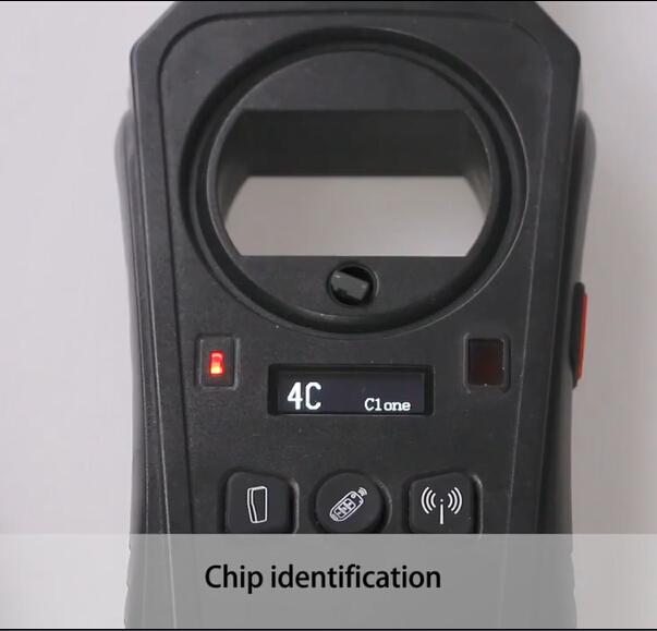 fabricante remoto keydiy kd-x2 identificar chip 4c