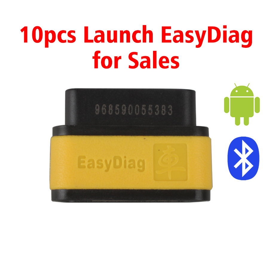 [Ship from UK NO TAX]Launch X431 EasyDiag Bluetooth OBD2 Code Reader for Android IOS 10pcs/lot for Sales