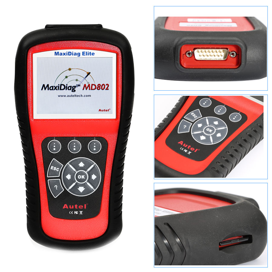 MaxiDiag Elite MD802 for 4 System+DS Model