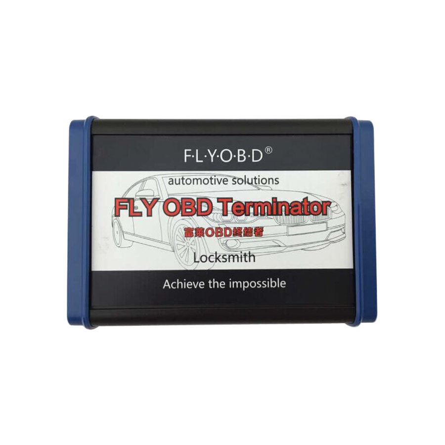 FLY FVDI2 OBD Terminator Universal Full Version For Odometer & Reset & IMMO  Update Online With Free J2534 Software