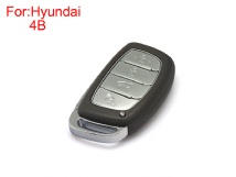 Remote Key Shell 4 Buttons for Hyundai Verna 5pcs/Lot