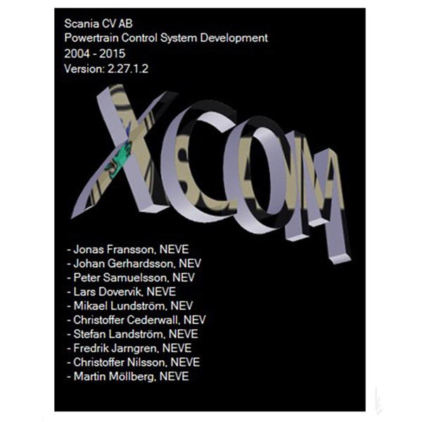 SCANIA DEVELOPER Software (XCOM-SOPS-Scania SDP3-BNS II) Support Win XP/Vista/7/8 By Mail