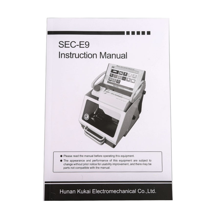 Multi-language SEC-E9 CNC Automated Key Cutting Machine Support Car Keys and Household Keys