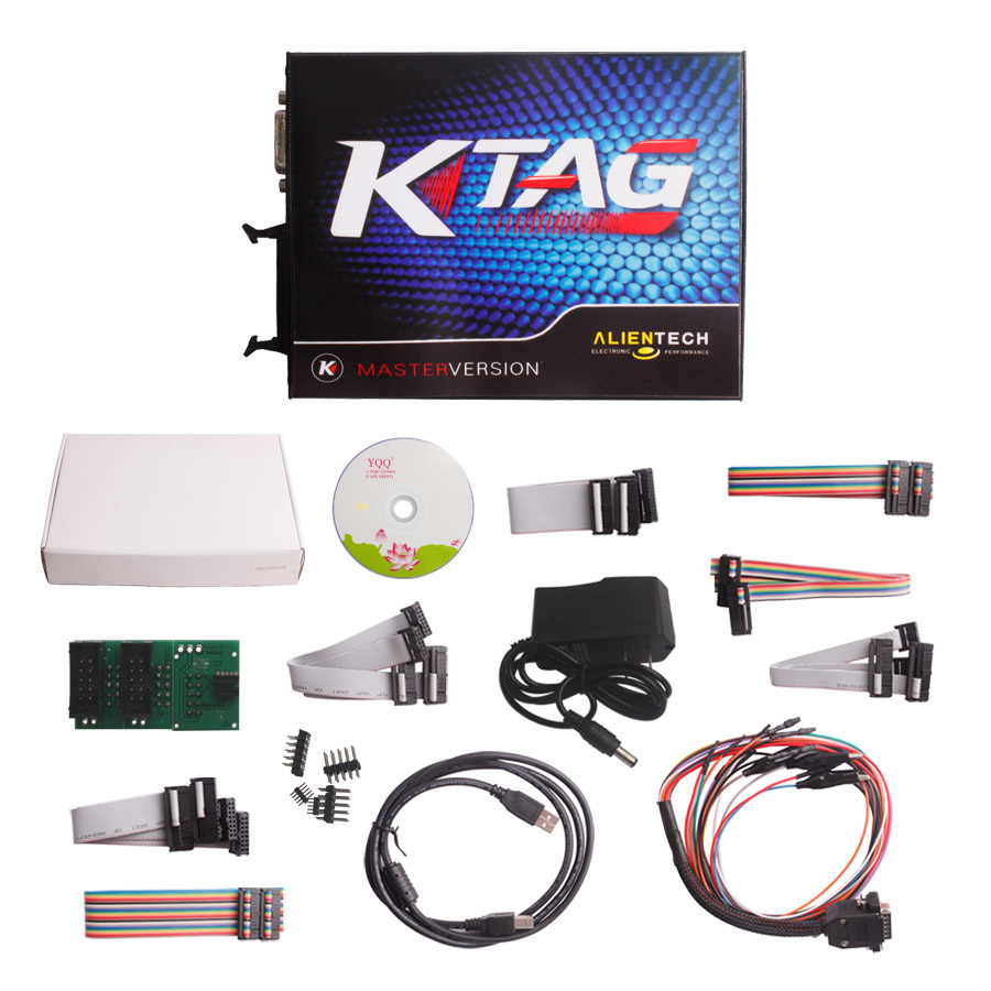2.13V Ktag K-TAG Master V6.070 Plus V2.33 KESS V2 Unlimited Token V4.036 Send Free ECM TITANIUM V1.61 2 In 1 Package