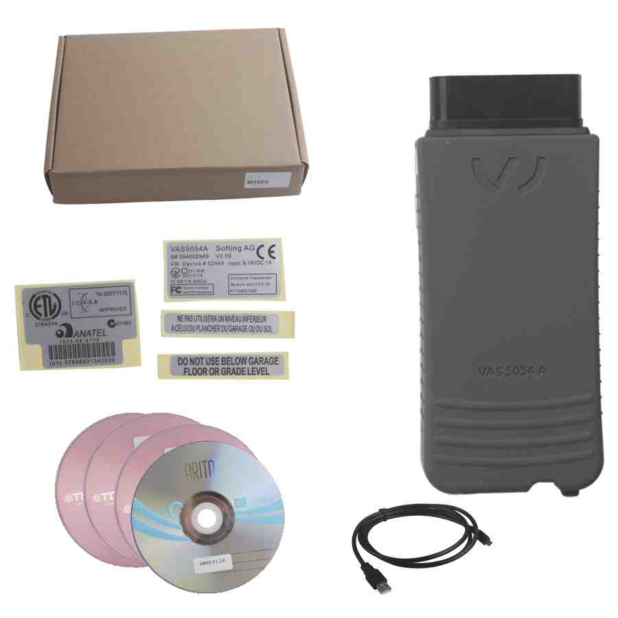 VAS 5054A V4.33 VW Audi ODIS With OKI Chip UDS Protocol Best Version