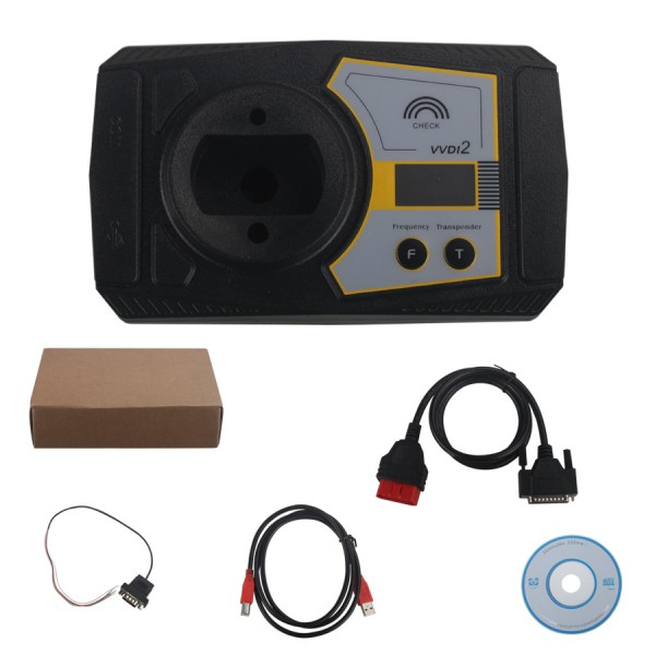 Original Xhorse VVDI2 BMW Commander Key Programmer With Basic, BMW and OBD Functions