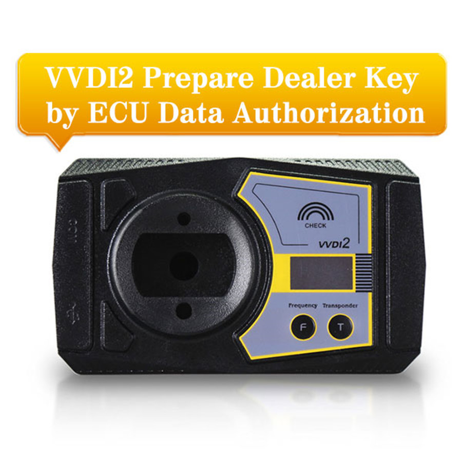 VVDI2 Prepare Dealer Key by ECU Data Functions VAG COPY Transponder by OBDII Authorization Service