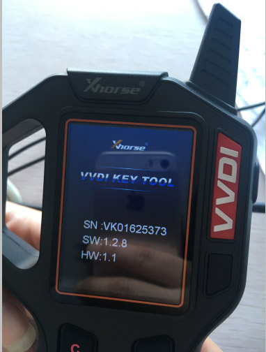 vvdi key tool version