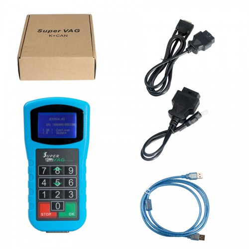 Super V-A-G K+CAN Plus 2.0 V-A-G Diagnosis Scanner Tool Mileage Correction For Audi VW Auto Key Programmer
