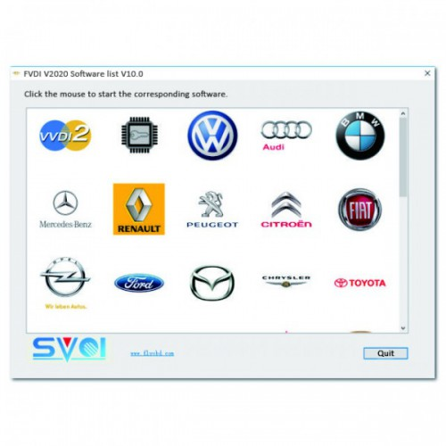 Original SVCI 2020 FVDI V2020 ABRITES Commander With All 37 Softwares Support Multi-Languages