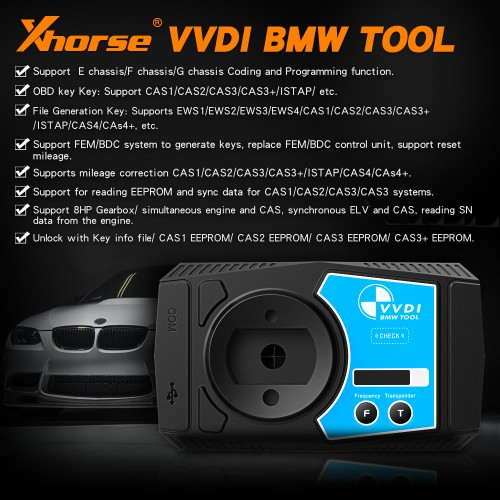 [Ship from UK NO TAX]V1.6.0 Xhorse VVDI BMW Mileage Correction, Coding and Programming Tool