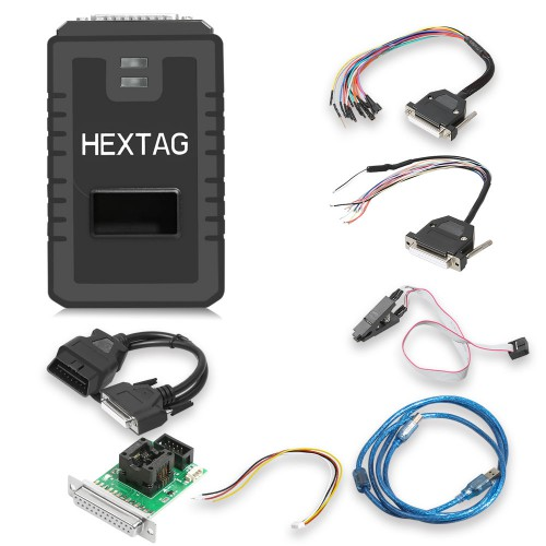 (Flash Sale) V1.0.8 Original HexTag Programmer with BDM Functions Includes Tricore Module