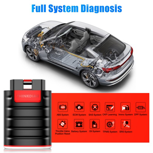 [6% Off €93]UK Ship Launch Thinkdiag OBD2 Full System Power Than X431 Easydiag Diagnostic Tool With 3 Free Software