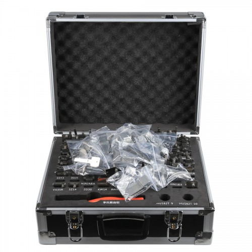 [Ship from UK NO TAX] LISHI 2 in 1 Auto Pick and Decoder Locksmith Kit Including 77pcs