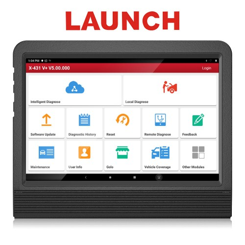 [Ship from UK/EU NO TAX] 2021 Global Version Launch X431 V+ 4.0 Full System Diagnostic Tool with 10.1inch Tablet Two Years Free Update