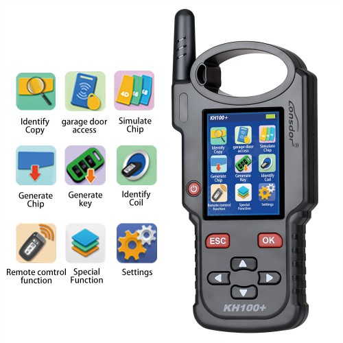 [Ship from UK/EU NO TAX] LONSDOR KH100+ Key Programmer Updated Version of KH100