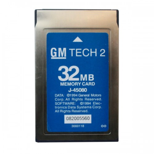 32MB CARD FOR GM TECH2 20 PCS With Free Ship By DHL