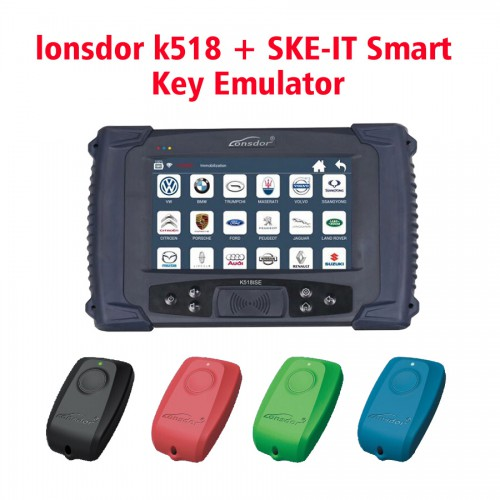 [Ship from UK NO TAX] Original Lonsdor K518ISE Key Programmer Plus SKE-LT Smart Key Emulator