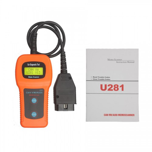[Ship from UK]U281 VW AUDI SEAT CAN-BUS OBD OBD2 CODE READER/SCANNER