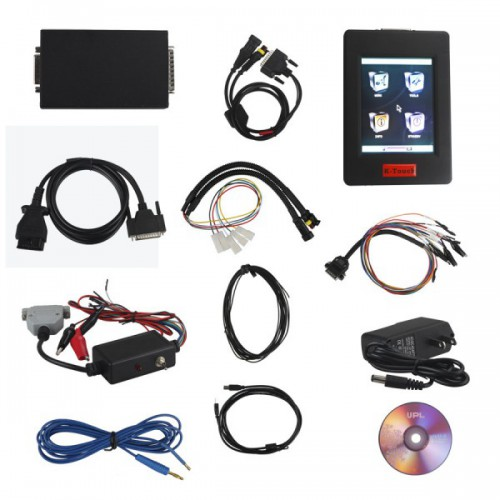 New Genius & Flash Point K-touch OBD2 Table ECU Chip Tuning Tool V5.005 Firmware With Winols 2.24