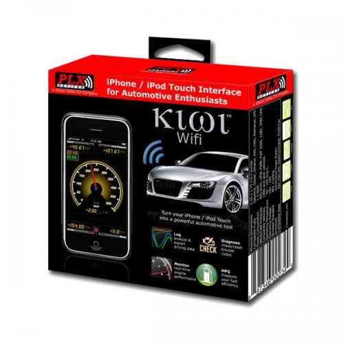 PLC direct  Kiwi Wifi OBD2 Automotive Diagnostic iPhone