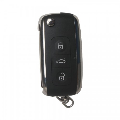 Modified Flip Remote Key Shell 3 Button for VW