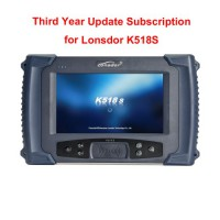 Third Year Update Subscription for Lonsdor K518S Basic Version
