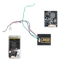 V96 J-ULIE CAR E-MULATOR Supports Immo OFF Solutions,ESL,ELV,AirBag (Seat Occupancy Sensor),Tacho