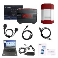 VXDIAG VCX-DoIP Porsche Piwis III with V38.900.000 Piwis Software SSD 240G on Lenovo T440P Laptop