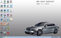 V2019.12 BMW ICOM Latest Software ISTA 4.20.31 ISTA-P 3.67.0.000 with Engineers Programming Windows 7 System