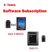 Two Years Online Software Update Service for Launch X431 Gasoline Scanner Launch X431 Subscription Renewal Card