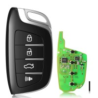 [UK Ship] Xhorse XSCS00EN Smarty Remote Colorful Crystal Style(Smartkey) 5pcs/lot