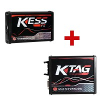[Ship from UK NO TAX] V2.53 Kess V2 Online Version+Ktag V7.020 No Tokens Need Perfect for OBD2 Jtag BDM Boot Protocols