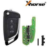 XHORSE XKKF03EN Universal Remote Key Fob Knife Style for VVDI Key Tool Max 5pcs/lot