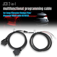 [Ship from UK] Lonsdor JCD 2-in-1 Multifunctional Programming Cable for Jeep/Chrysler/Dodge/Fiat/Maserati Work with K518ISE