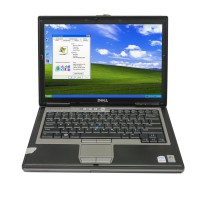 Dell D630 Core2 Duo 1,8GHz, 4GB Memory WIFI, DVDRW Second Hand Laptop Especially for MB SD C4/C5