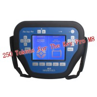 250 Tokens for The Key Pro M8 Auto Key Programmer M8 Diagnosis Locksmith Tool