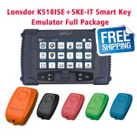 [Ship from UK NO TAX]Lonsdor K518ISE Key Programmer Plus SKE-IT Smart Key Emulator 5 in 1 set Full Package