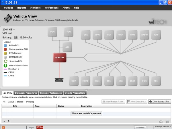 Witech Diagnostic Application Software Download