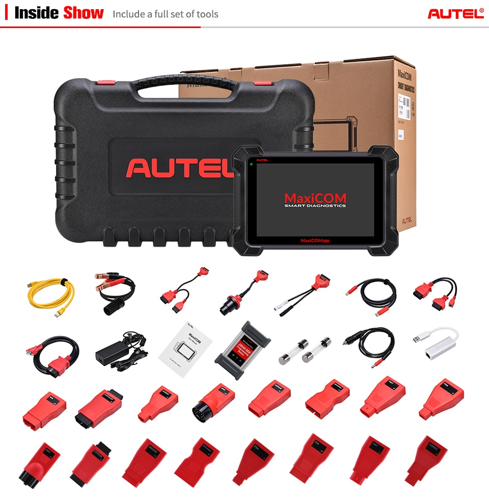 autel mk908p package display