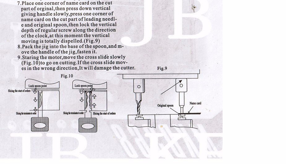 368a key cutting machine user manual 4